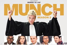 Munch Season 2 : Up to 25% Market Share on TF1 Prime Time
